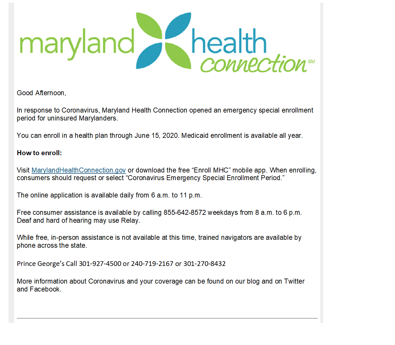 MD HEALTH CONNECT