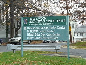 Senior Citizens Group Welcome Sign